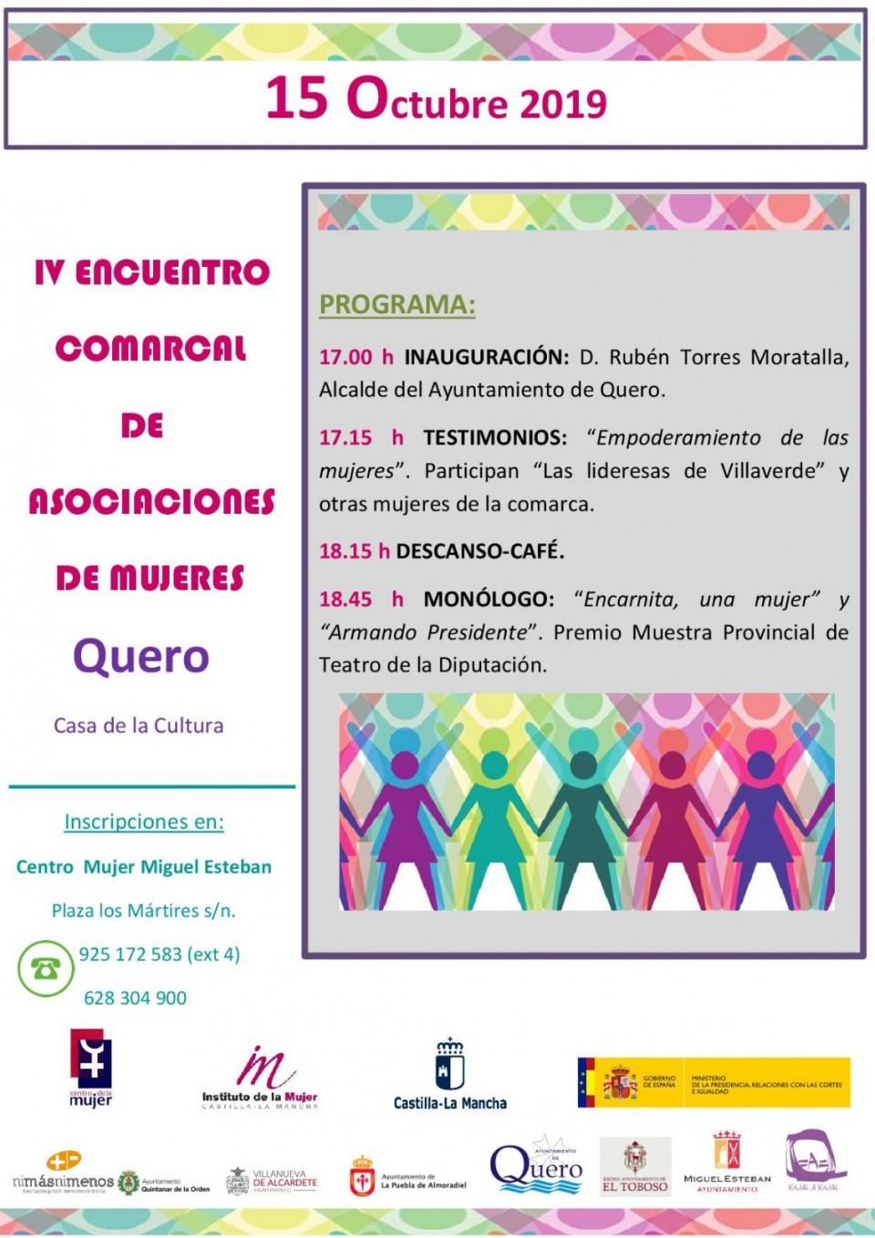 IV Encuentro Comarcal de Asociaciones de Mujeres